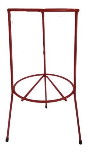 suporte para extintor cromado ou vermelho - solo