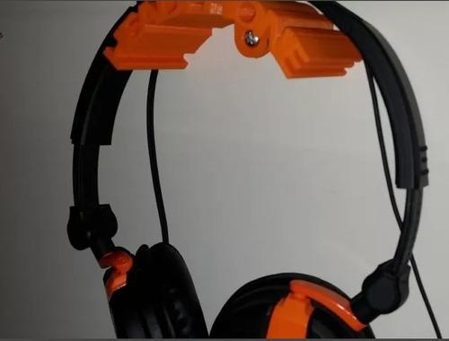 suporte para fone de ouvido headphone p/ parrede ou mesa.