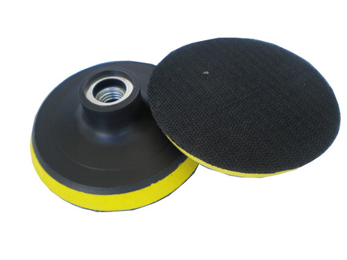 suporte para lixa umida 100mm p/ furadeira (9mm de furo)