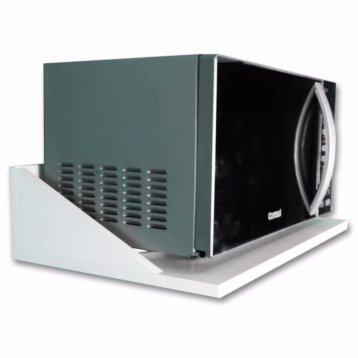 Suporte para microondas e forno eletrico r 49 00 em - Estante para microondas ...