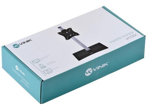 suporte para monitor 12  a 27  vesa 100x100 - sm320c