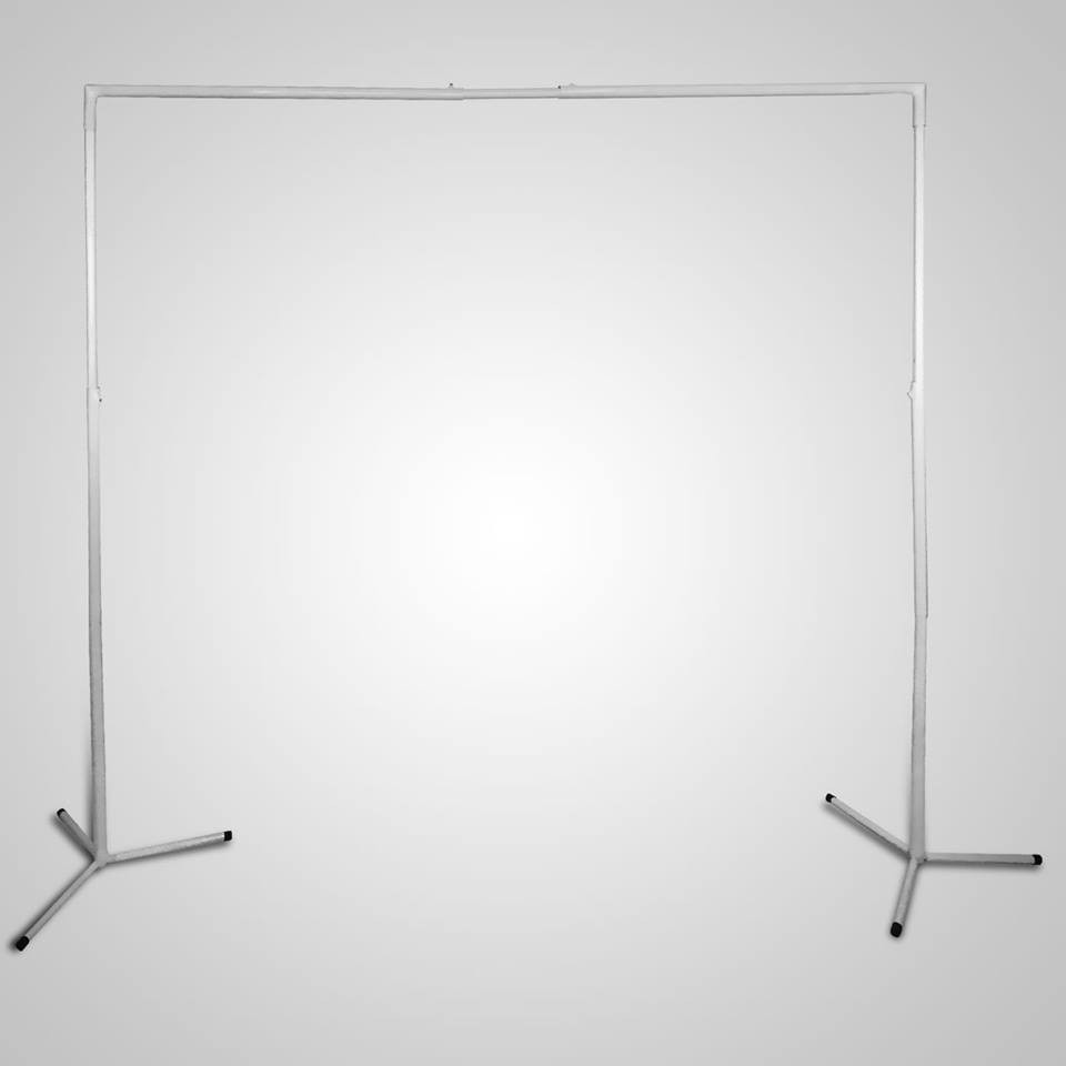 Suporte para painel tela de bexiga cortina muro ingles for Tela para muro verde