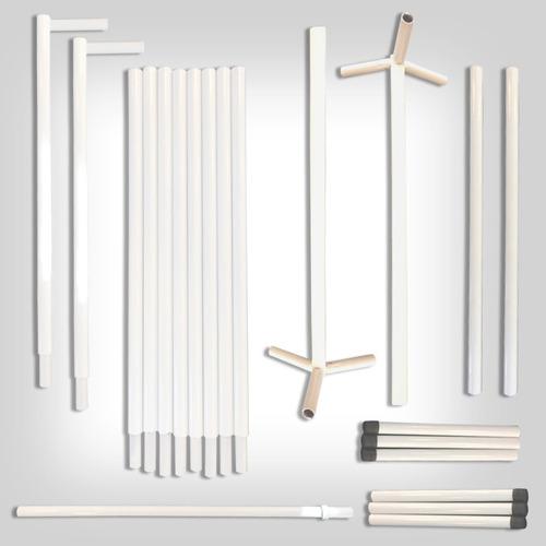 suporte para painel, tela de bexiga, muro ingles 2,30 x 2,30