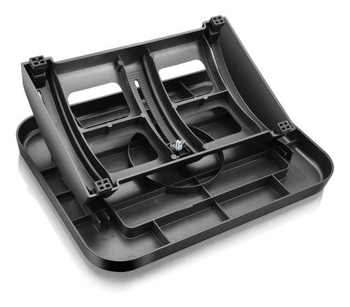 suporte para pés multilaser ajustável ergonômico preto ac279