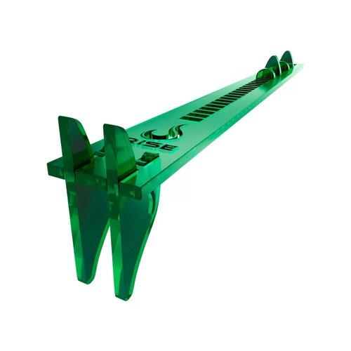 suporte para placa de vïdeo military green - rise