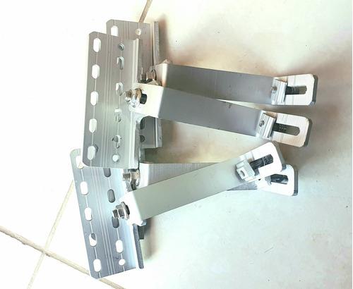 suporte para  placas solares para telha cerâmica e cimento