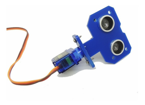 suporte para sensor ultrassônico hc-sr04 - movimento da base