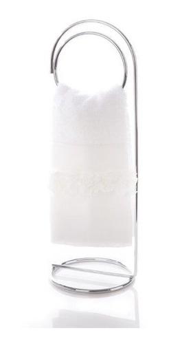 suporte para toalha banheiro / lavabo arco hara
