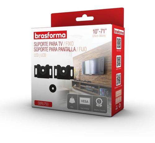 suporte para tv de 10  a 71  brasforma sbru750