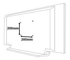 suporte para tv de 26 a 52 pol led,plasma,lcd e 3d universal