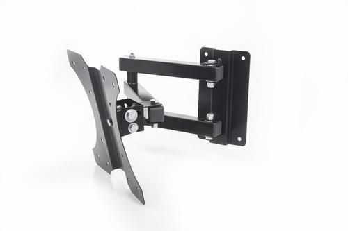 suporte para tv tri-articulado lcd led plasma 3d 32 a 41 pol