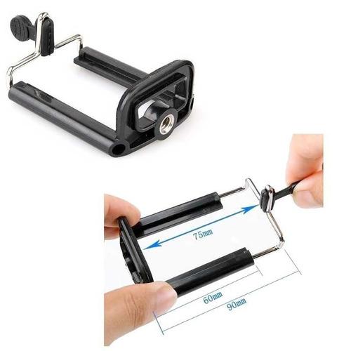 suporte para usar o celular em tripé ou bastão colorido cor