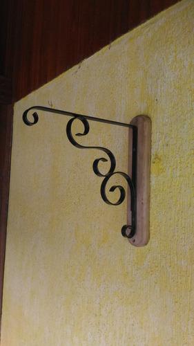 suporte para vaso de plantas artesanal