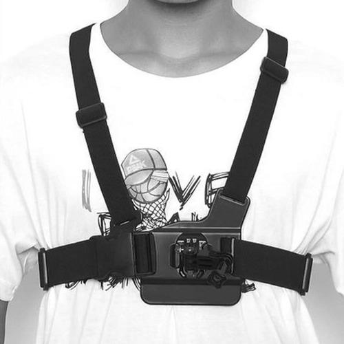 suporte peitoral chest harness - gopro hero sjcam xiaomi yi