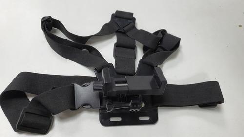 suporte peitoral com suporte de celular kit modo rex2501