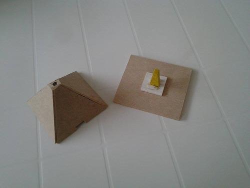 suporte pirâmide incensário p/ incensos/defumadores tabletes