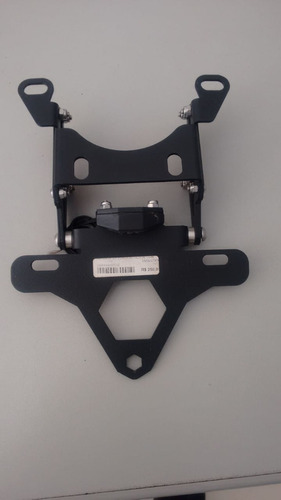 suporte placa articulado gsx-r 750 13/14- preto