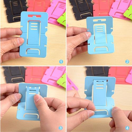 suporte plástico para telefone celular em mesa samsung iphon