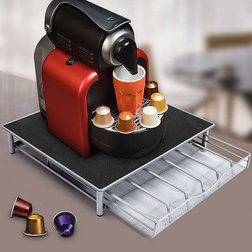 suporte porta capsula gaveta e base dolce gusto nespresso