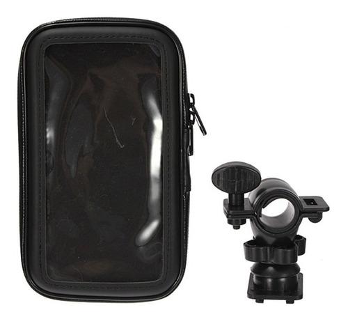 suporte porta celular 6.3  gps p/ moto bike fixa no guidão
