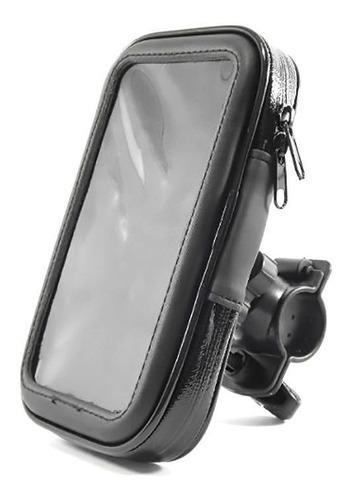 suporte porta celular gps 6  guidão bike moto iphone samsung