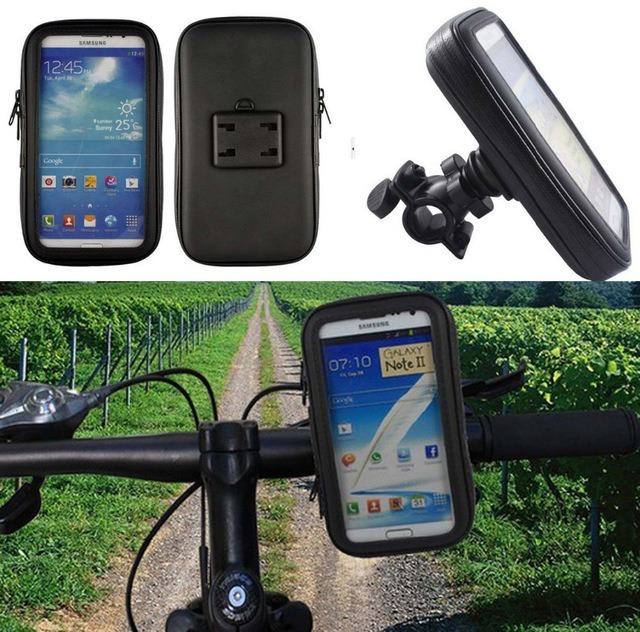 b4368624a50 Suporte Porta Celular Gps Guidão Bike Moto iPhone Samsung - R$ 29,49 ...