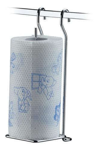 suporte porta rolo papel toalha parede barra cozinha 2423