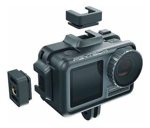 suporte pra osmo action câmera cage  - pgytech