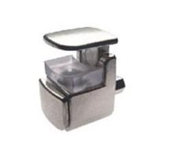 suporte prateleira de vidro - fixação em madeira 50 unidades
