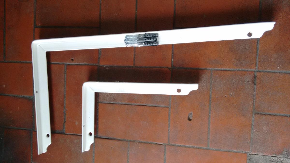 Suporte Prateleira Reforçado Branco 50cm St50x25 Eb - 12pçs - R  359 ... 058fa08415c