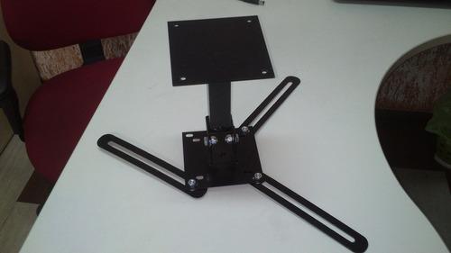 suporte projetor universal de teto c/regulagem de altura30cm