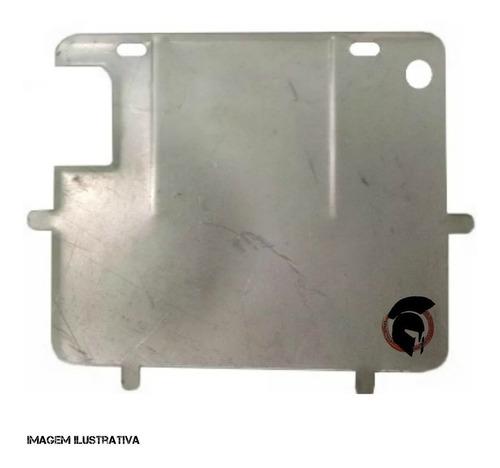 suporte protetor placa moto padrão novo grande chapa 0075