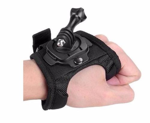 suporte pulseira mão go pro hd hero 1 2 3 4 5 session 4 e 5