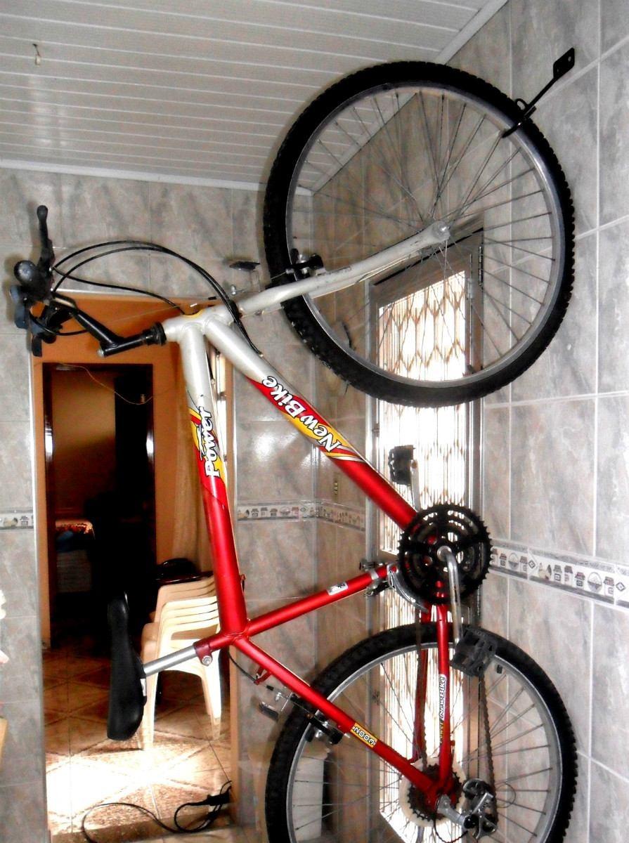 0e011f359 suporte rack gancho parede bicicleta bike aço carbono preto. Carregando  zoom.