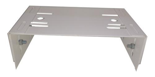 suporte regulável em aço para motor portão deslizante