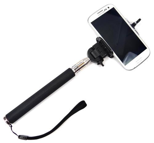 suporte selfie celular bastão retratil monopod galaxy iphone