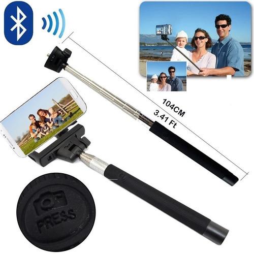 suporte selfie celular bastão retratil monopod universal