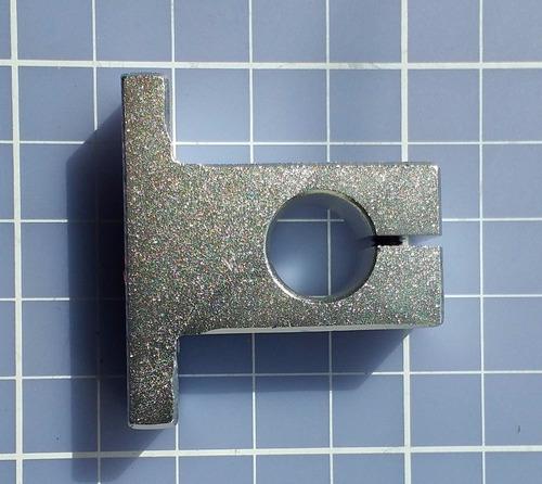 suporte sk12 para guia linear 12 mm - automação cnc 3d