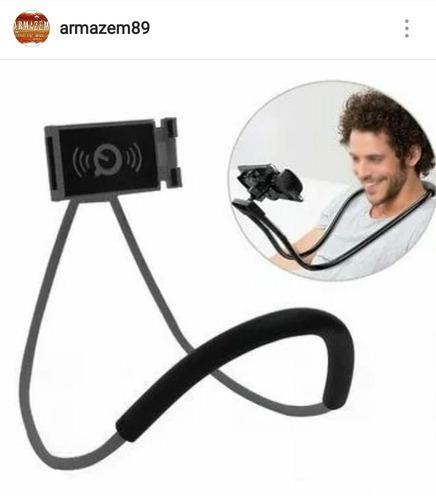 suporte smartfhone articulado de pescoco - selfie e vídeos