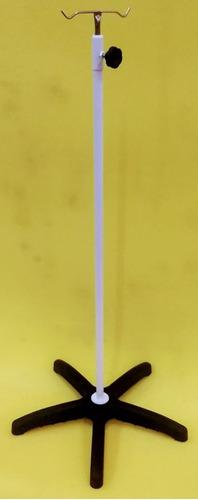 suporte soro epóxi base termoplástica 5 pés s/ rodízios