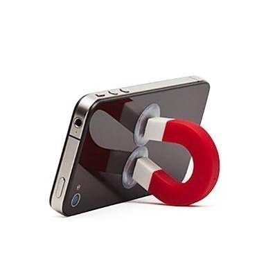 suporte stand magnetic iphone ipod mp3 galaxy celulares