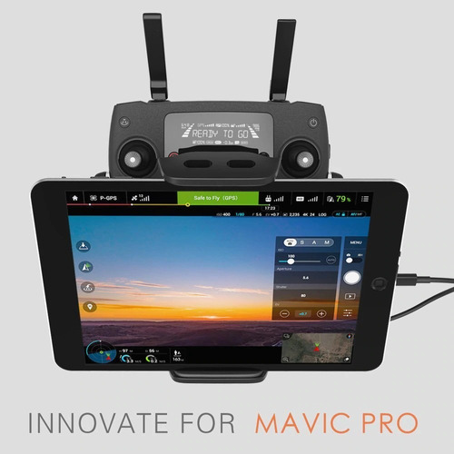 suporte tablet controle dji mavic 2 / mavic pro/ air pgytech