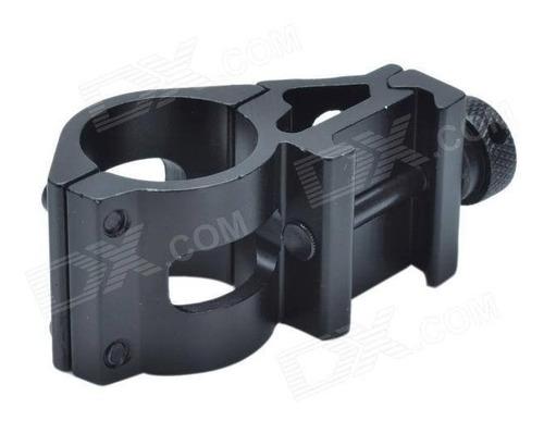 suporte tático para lanterna - 25 mm