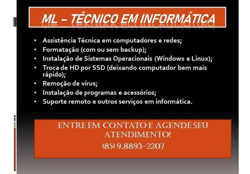 suporte técnico (serviços