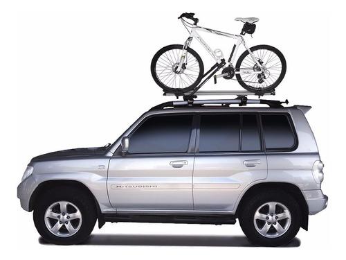 suporte teto bicicleta transbike antifurto eqmax stark prata