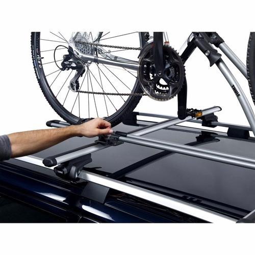 suporte transbike calha thule freeride 532 rack teto 1 bike