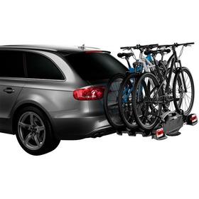 Suporte Transbike Thule Velocompact 927 Engate 3 Bikes + Bride Placa Decorativa Semelhante  A Do Seu Carro