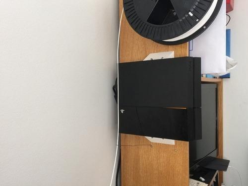suporte trava de prender na parede para ps4 fat slim e pro