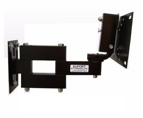 suporte tri articulado tv led lcd plasma smart curve lg 32``
