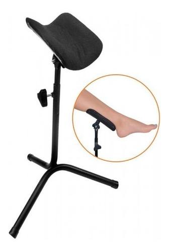 suporte tripe apoio das pernas pedicure manicure